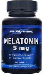 Melatonin 5 mg BodyStrong (180 таб)