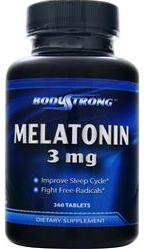 Melatonin 3 mg BodyStrong (360 таб)