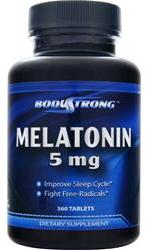 Melatonin 5 mg BodyStrong (360 таб)