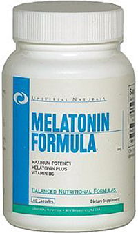Melatonin 5 mg Universal Nutrition (60 кап)
