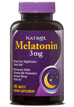 Melatonin 3 mg Natrol (240 таб)