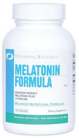 Melatonin 5 mg Universal Nutrition (120 кап)