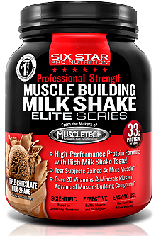 Muscle Building Shake Elite Series Six Star (885 гр)
