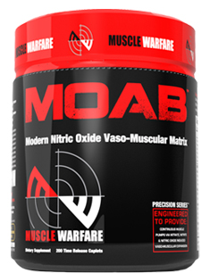 MOAB Muscle Warfare (200 таб)