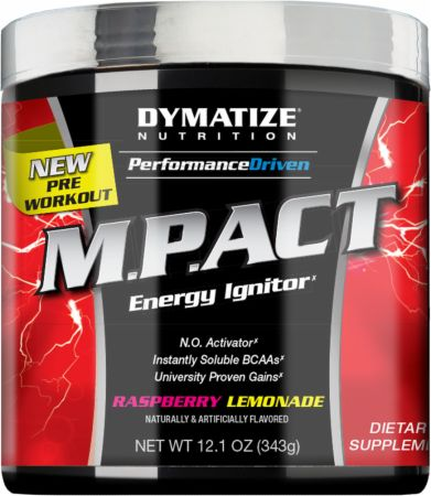 M.P.ACT Energy Ignitor Dymatize Nutrition (340-360 gr)