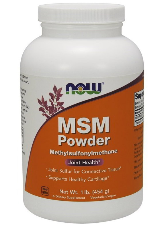 MSM Powder NOW (454 гр)