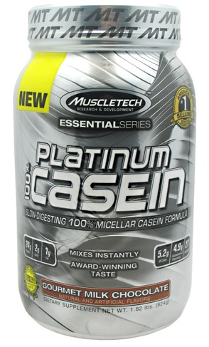 100% Platinum Casein Muscle Tech (817-828 gr)