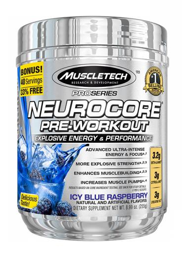 NeuroCore Pre-Workout MuscleTech (255 гр)