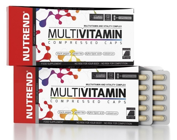 Multivitamin Compressed Caps Nutrend (60 кап)(годен до 07/03/18)