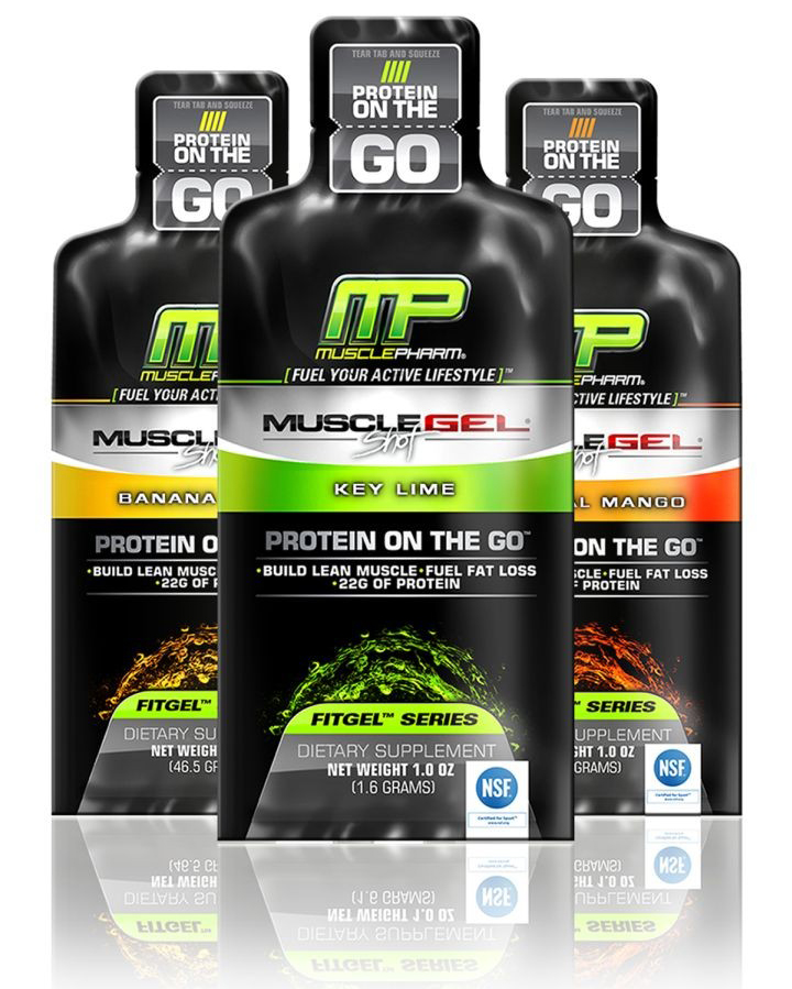 MuscleGel Shot MusclePharm (1 шт, 46 гр)