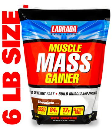 Muscle Mass Gainer Labrada Nutrition (2722 гр)(годен до 06/2017)