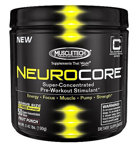 NeuroCore MuscleTech (210-228 гр, 50 порций)