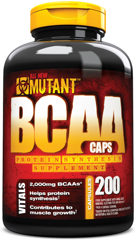 BCAA Caps Mutant (200 cap)