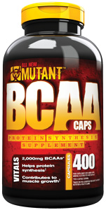 BCAA Caps Mutant (400 cap)