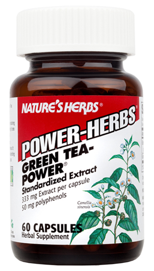 Green Tea-Power Twinlab Nature's Herbs (60 cap)