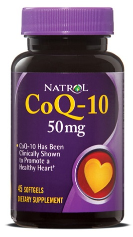 CoQ-10 50 mg Natrol (45 softgels)