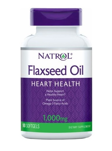 Flax Seed Oil 1000 mg Natrol (90 гелькап)