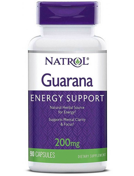 Guarana 200 mg Natrol (90 кап)