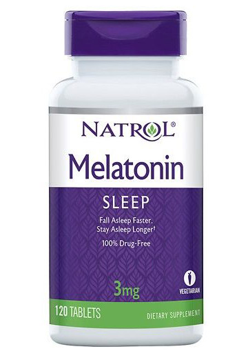 Melatonin 3 mg Natrol (120 tab)
