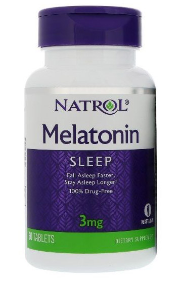 Melatonin 3 mg Natrol (60 tab)