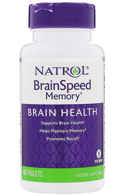 BrainSpeed Memory Natrol (60 tab)