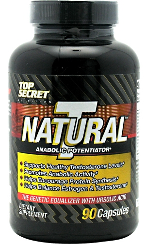 Natural T Testosterone Booster Top Secret Nutrition (90 кап)