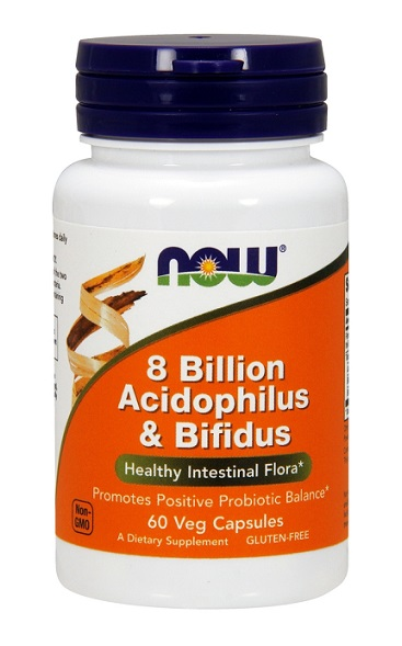 Acidophilus 8 Billion NOW (60 cap)
