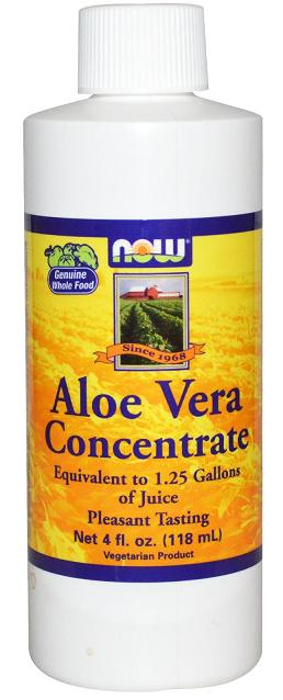 Aloe Vera Concentrate 4 oz NOW (118 мл)