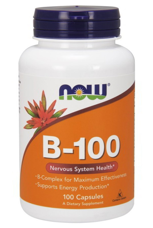 Vitamin B-100 NOW (100 cap)