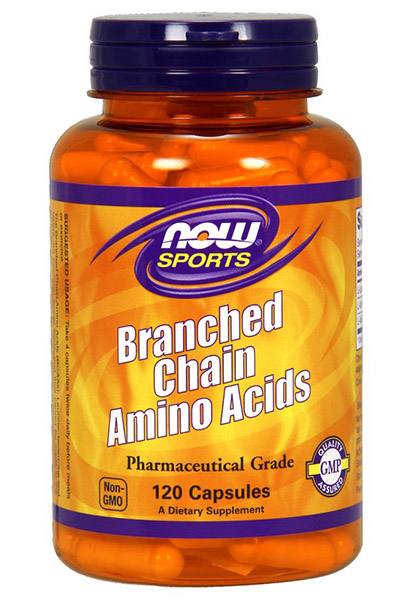 Branched Chain Amino Acids NOW (120 кап)