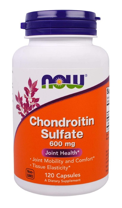 Chondroitin Sulfate 600 mg NOW (120 кап)