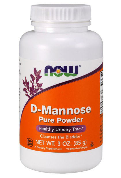 D-Mannose Pure Powder NOW (85 гр)