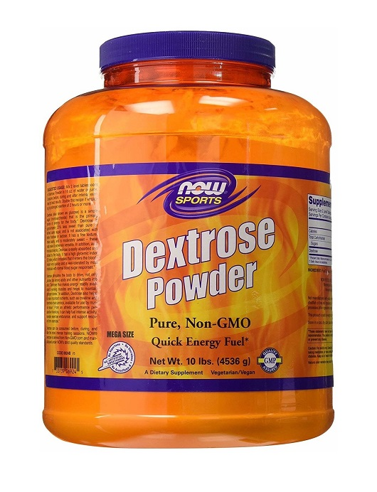 Dextrose Powder NOW (4536 gr)