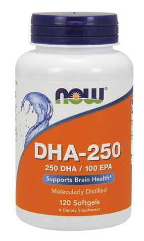DHA-250 NOW (120 Softgels)