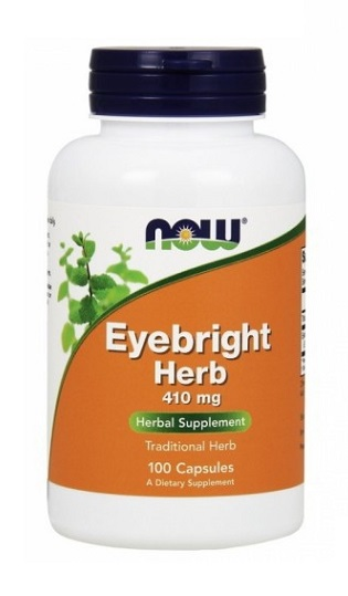 Eyebright Herb 410 mg NOW (100 вег кап)(годен до 11/2019)
