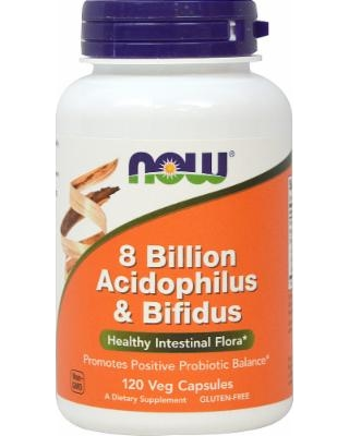 Acidophilus 8 Billion NOW (120 cap)