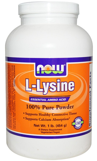 L-Lysine Powder NOW (454 гр)