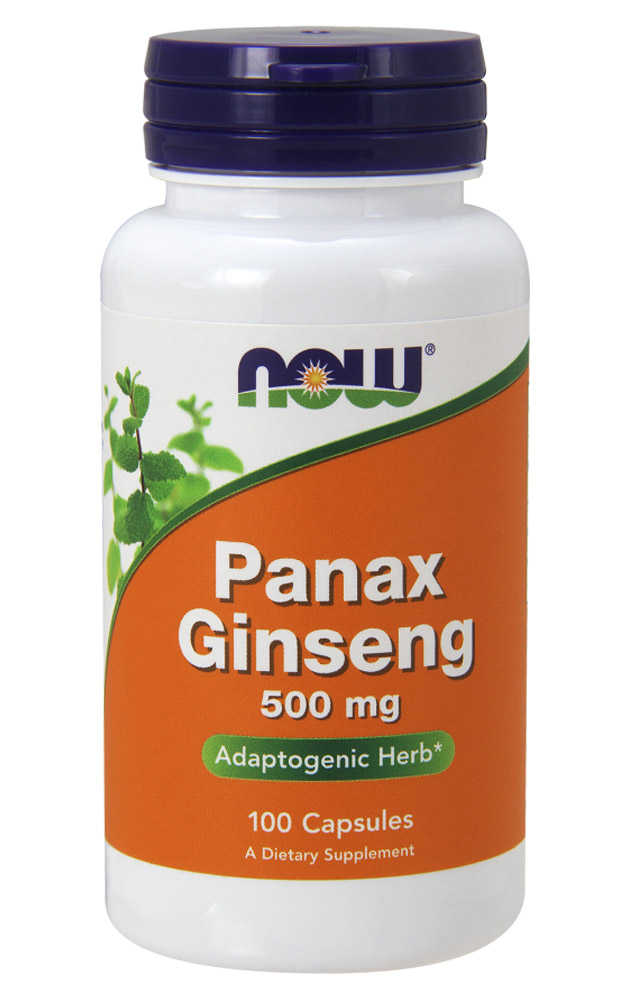 Panax Ginseng 500 mg NOW (100 caps)