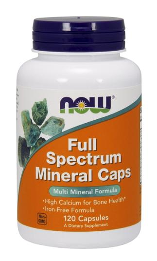 Full Spectrum Mineral Caps NOW (120 капсул)