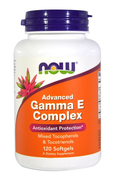 Advanced Gamma E Complex NOW (120 Softgels)