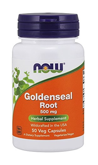 Goldenseal Root 500 mg NOW (50 caps)(EXP 01/2020)