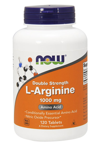 L-Arginine 1000 mg NOW (120 tab)