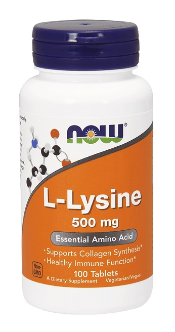 L-Lysine 500 mg NOW (100 таб)