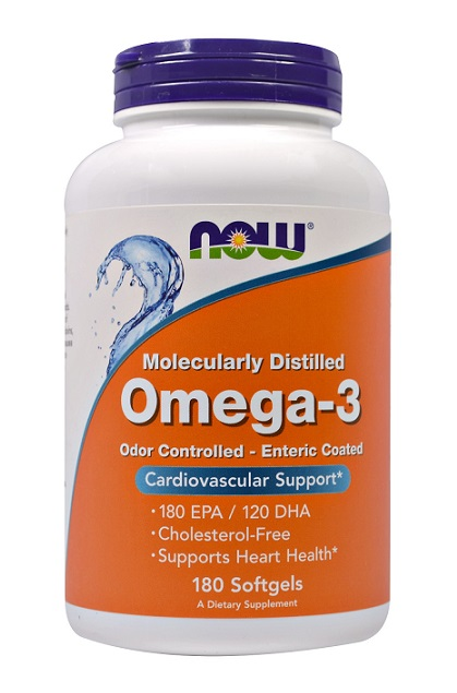 Omega-3 NOW (180 гелевых капсул)