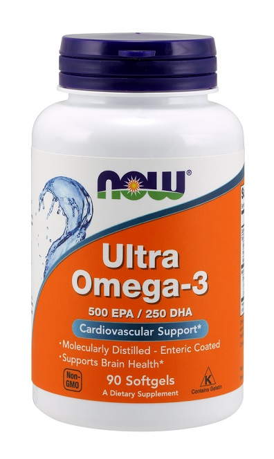 Ultra Omega-3 NOW (90 Softgels)