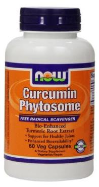 Curcumin Phytosome NOW (60 вег кап)(годен до 09/2016)