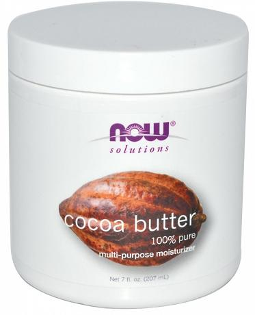 Cocoa Butter Pure 7 oz NOW (207 мл)