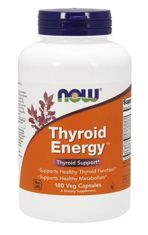 Thyroid Energy NOW (180 вегетарианских капсул)