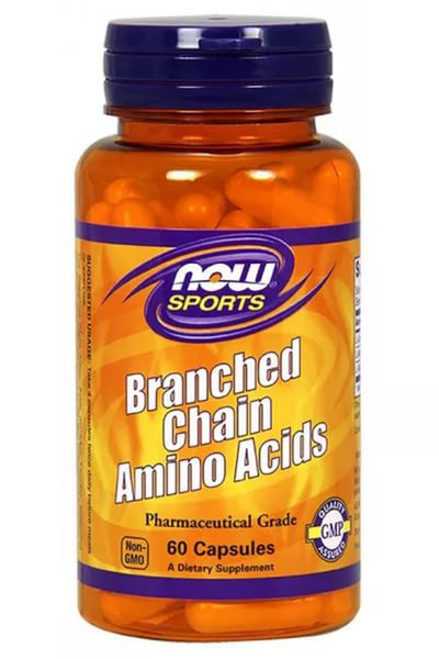 Branched Chain Amino Acids (BCAA) NOW (60 кап)