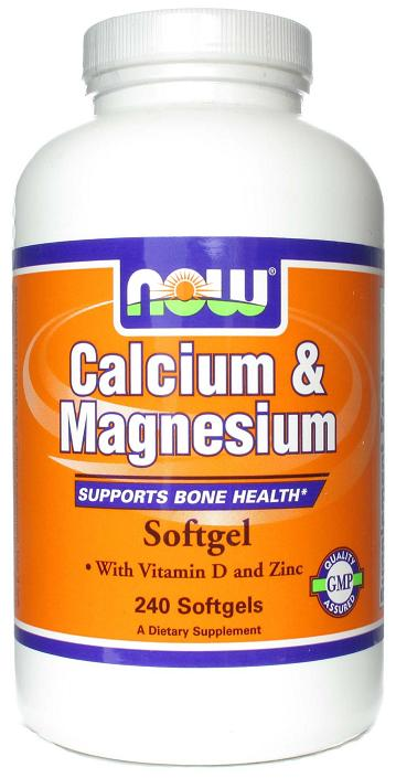 Calcium & Magnesium NOW (240 softgel)